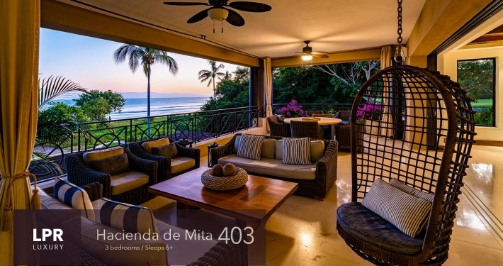 Hacienda de Mita 403 - Punta Mita Resort vacation rental condos on the beach for sale.