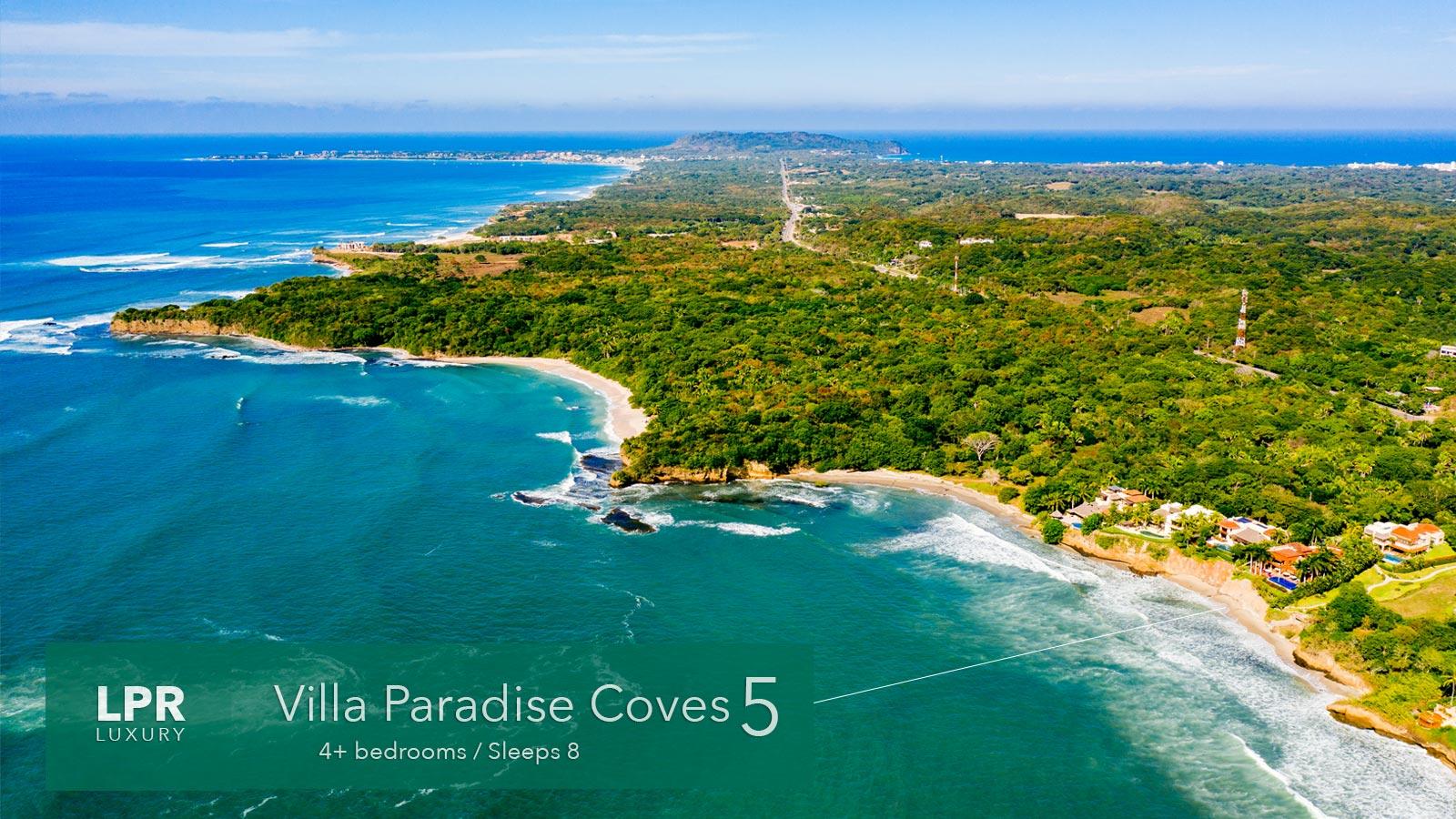 Villa Paradise Coves 5 - Luxury Punta de Mita Vacation Rental Villa - Riviera Nayarit, Mexico`