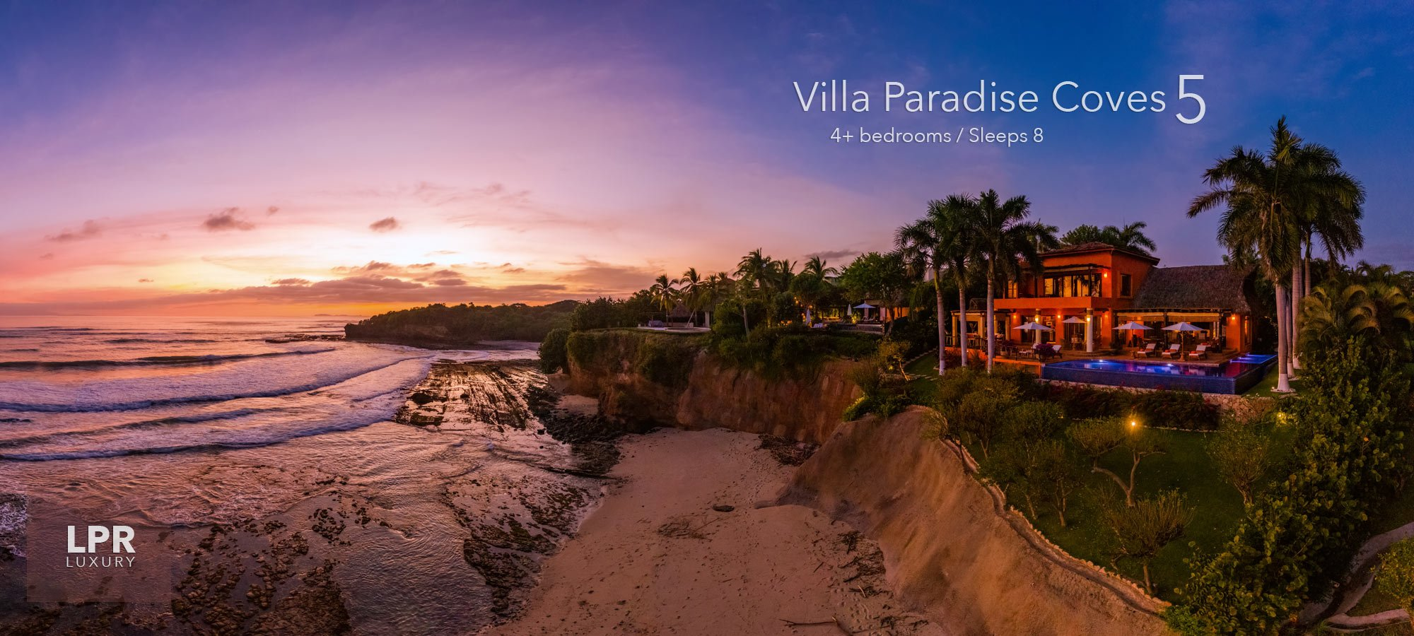 Villa Paradise Coves 5 - Luxury Punta de Mita Vacation Rental Villa - Riviera Nayarit, Mexico`