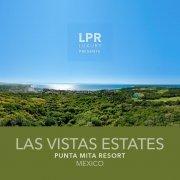 Las Vista Estates - Luxury real estate at the Punta Mita Resort. Hillside homesite building lots for sale overlooking the resort, golf fairways and Las Marietas Islands.