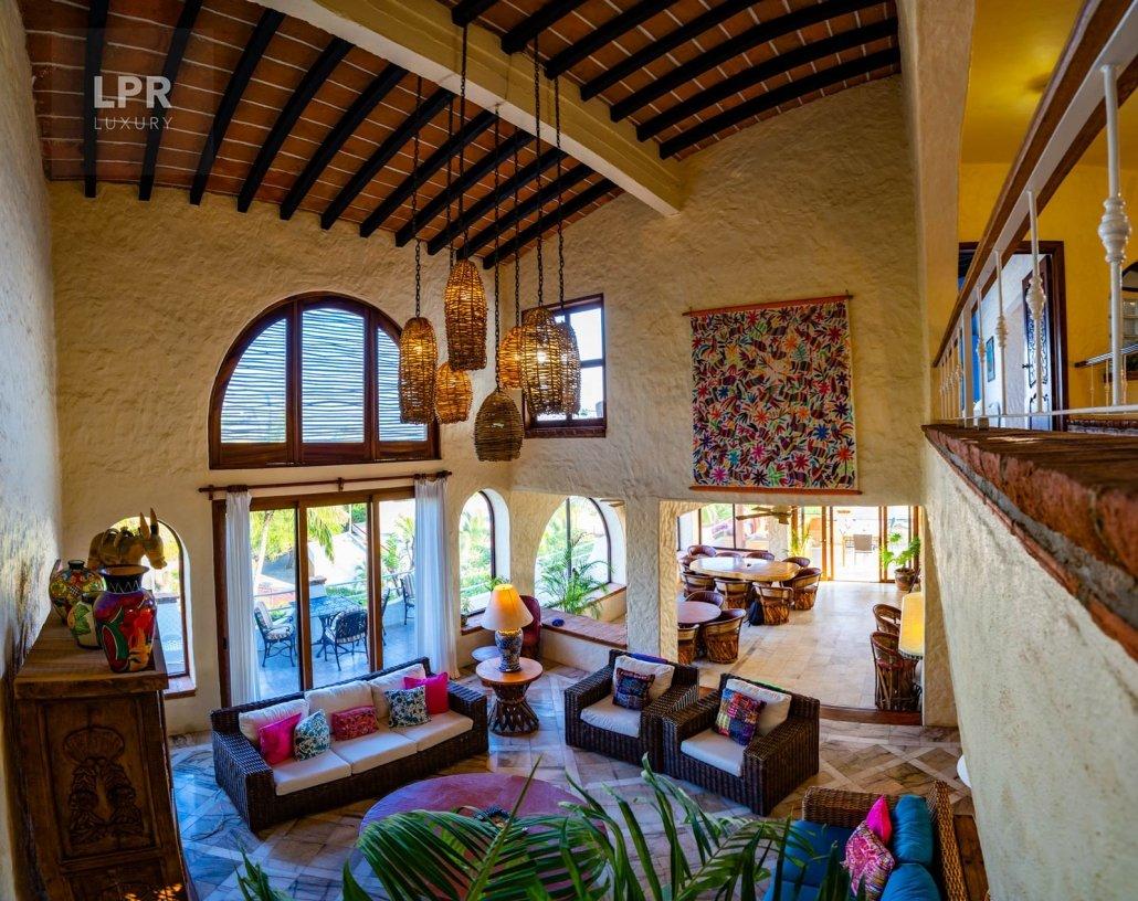 Villa Punta del Burro 8 - Punta de Mita beachfront vacation vila for sale North of Puerto Vallarta, Riviera Nayarit, Mexico real estate