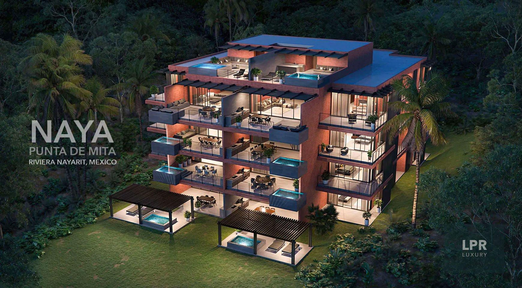 NAYA - Beachfront condos | Los Veneros - Punta de Mita - Luxury beachfront resort residences for sale - Luxury Real estate North of Puerto Vallarta, Mexico