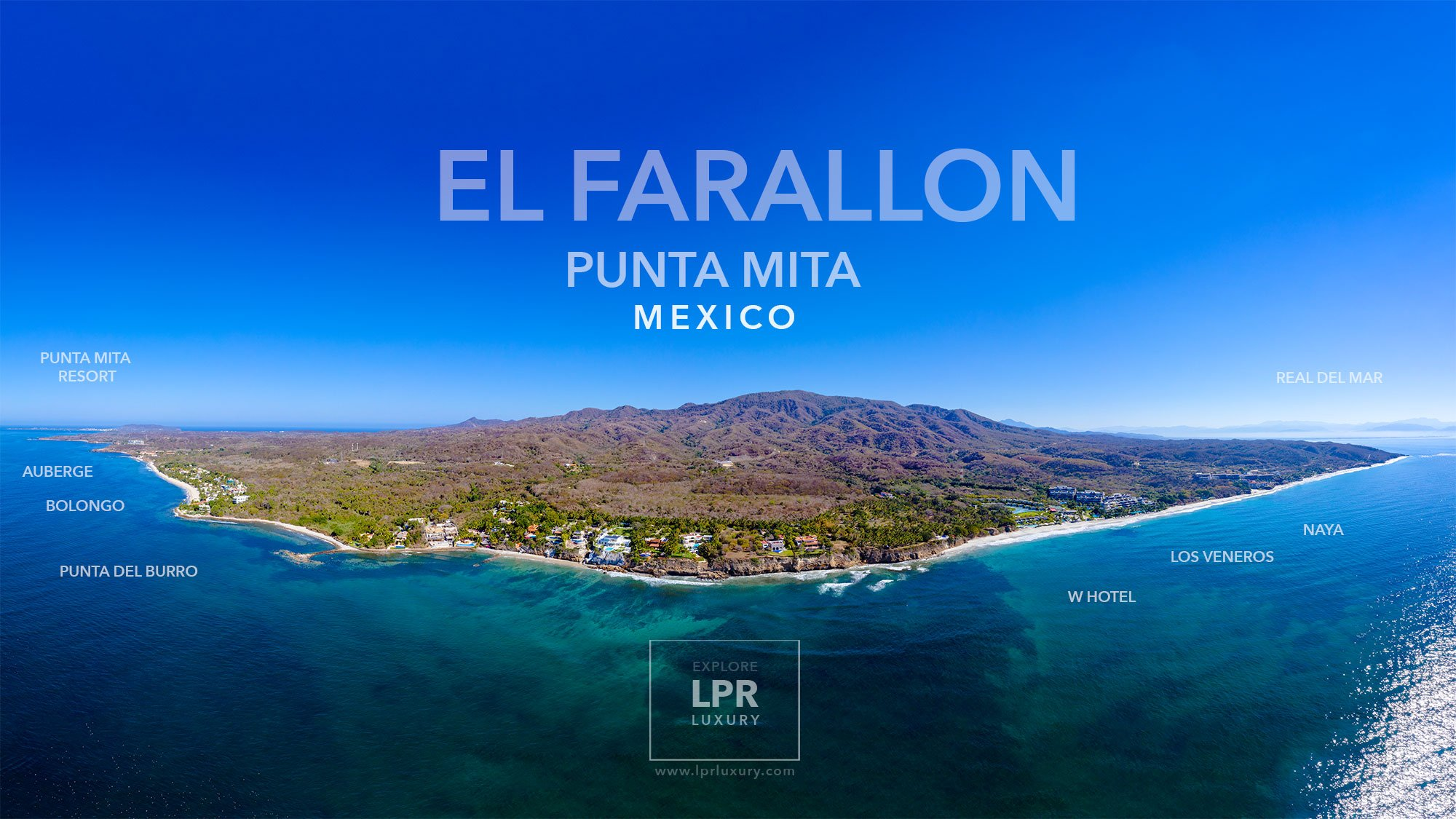 El Farallon - Luxury villas for sale and rent - Punta de Mita, Puerto Vallarta, Riviera Nayarit, Mexico