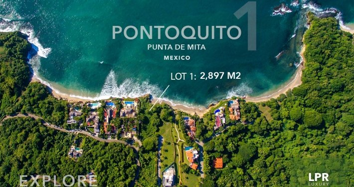 Pontoquito - Lot 1 - Punta de Mita luxury real estate