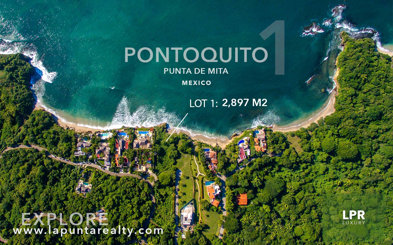 Pontoquito - Lot 1 - Punta de Mita luxury real estate