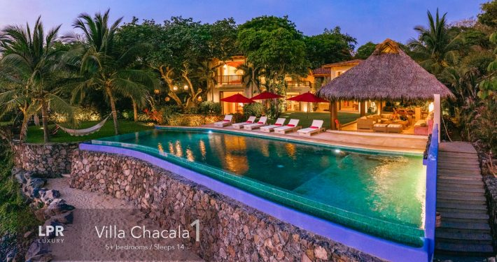Villa Chacala 1 - Luxury oceanfront beach home on Chacalilla Bay at Marian Chacala, Riviera Nayarit, Mexico luxury real estate and vacation rentals.