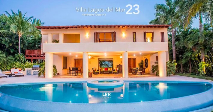 Villa Lagos del Mar 23 - Punta Mita Resort real estate and vacation rentals - Riviera Nayarit, Mexico