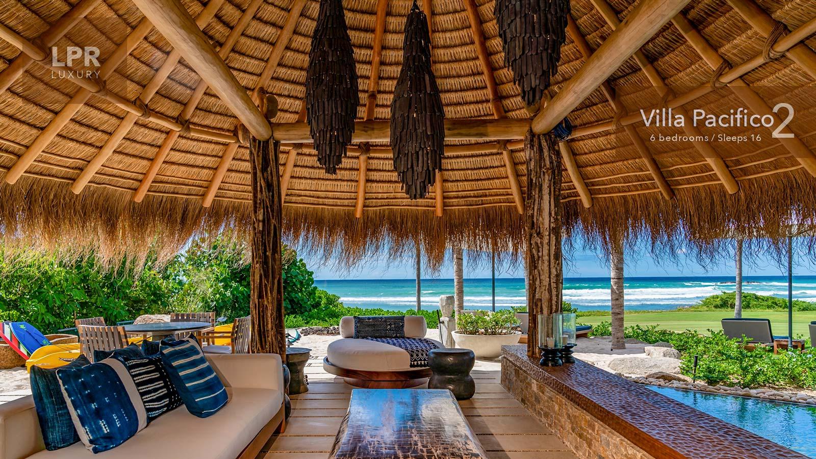 Villa Pacifico 2 - Luxury beachfront vacation rental villa next to the St. Regis at the Punta Mita Resort, Riviera Nayarit, Mexico