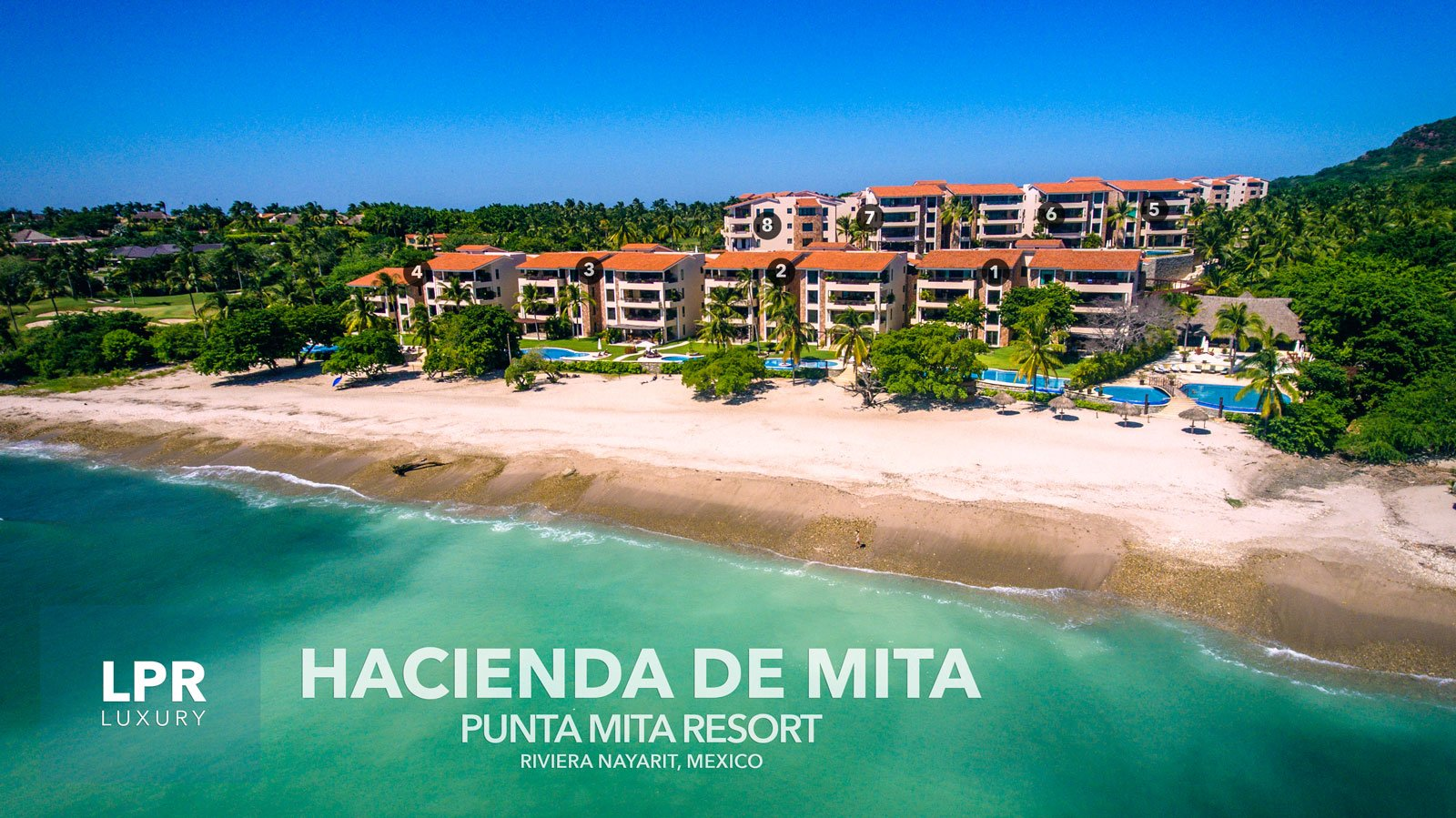 Hacienda de Mita - Luxury Punta Mita Mexico condos for sale and rent