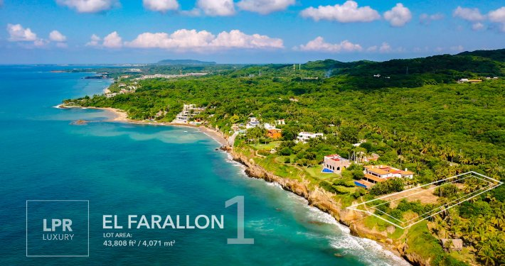 El Farallon lot 1 - Punta de Mita home site building lot for sale - Punta Mita, Puerto Vallarta, Mexico