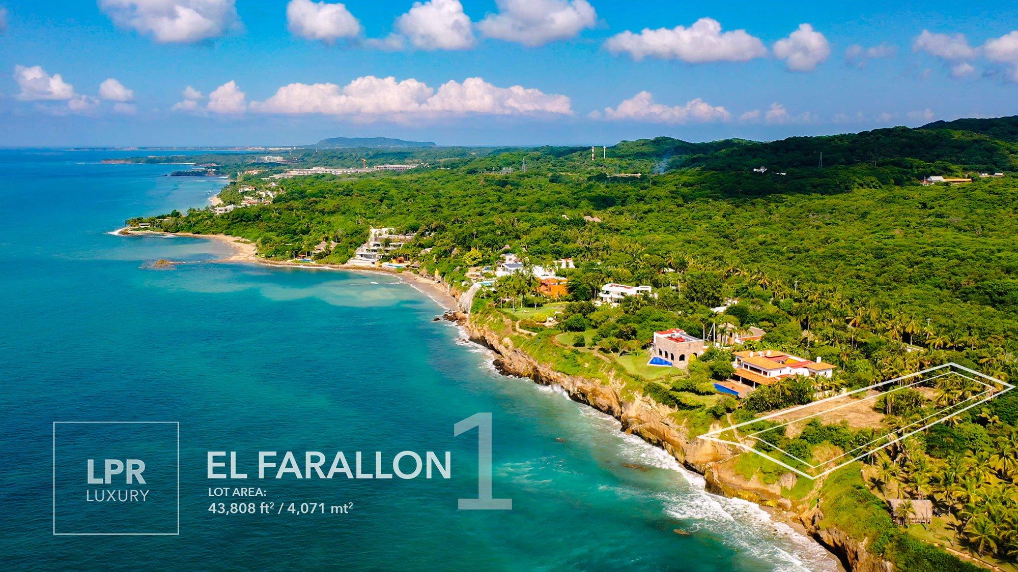 El Farallon lot 1 - Punta de Mita home site building lot for sale - Punta Mita, Puerto Vallarta, Mexico