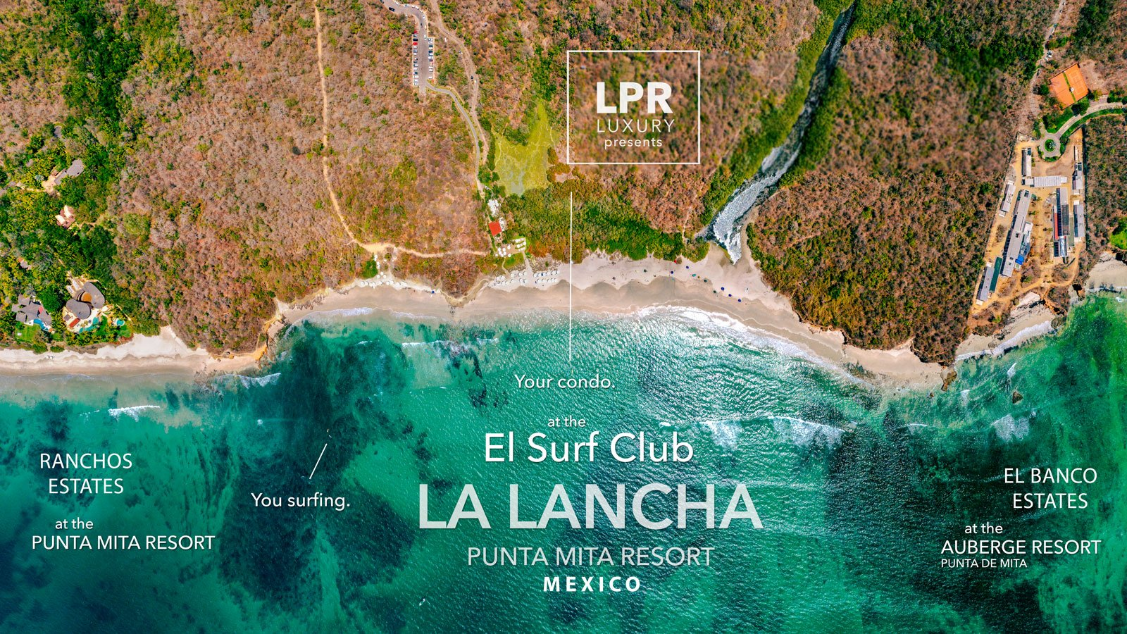 La Lancha - Punta Mita resort beachfront condos. Luxury real estate for sale at the Punta Mita Resort, Riviera Nayarit, Mexico