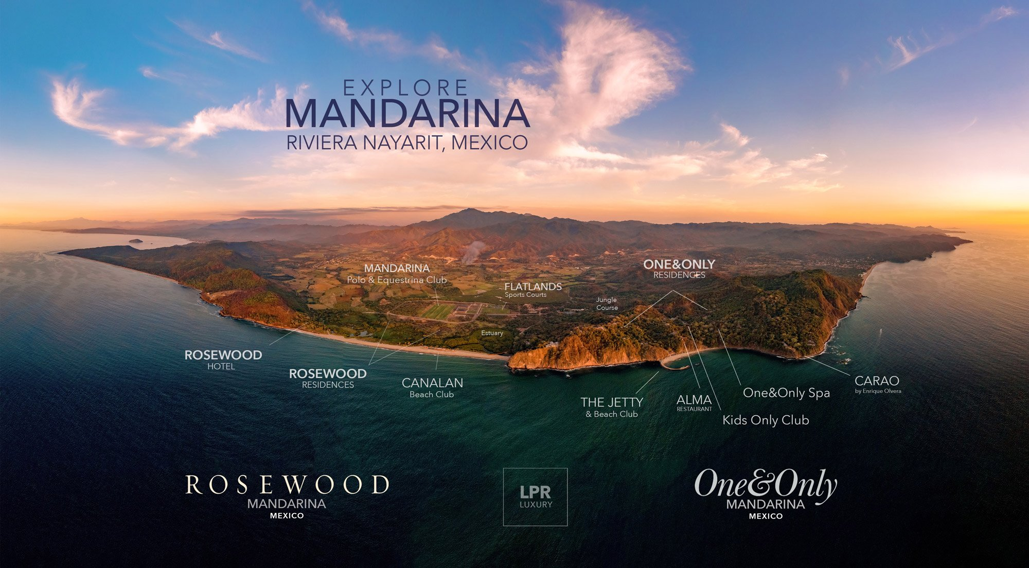 The Private Homes at One&Only Mandarina, Riviera Nayarit, Mexico - Luxury resort real estate in Mexico.