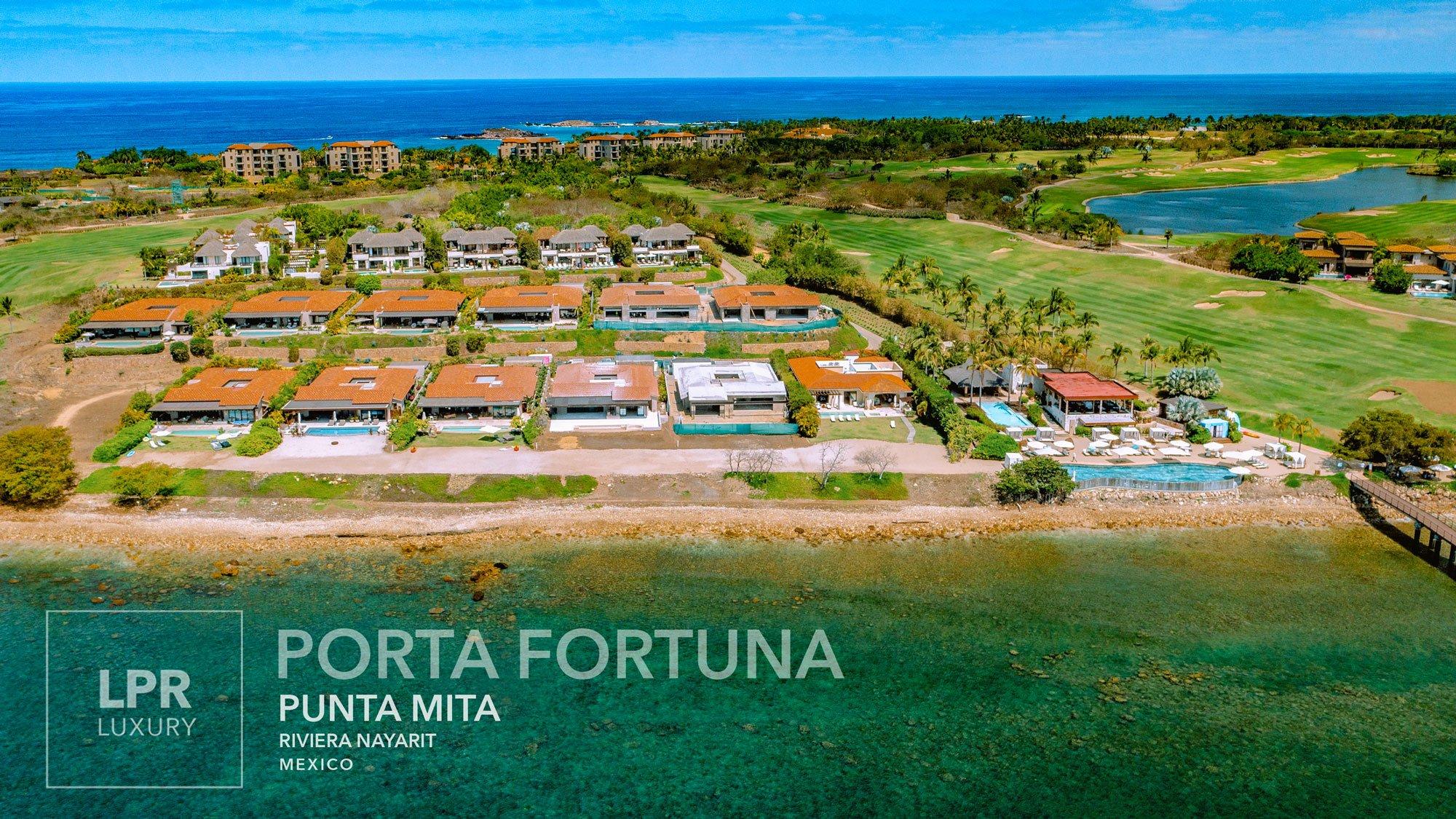 Villas at Porta Fortuna, Punta Mita Resort, Mexico - Luxury vacation rental villa at the Punta Mita Resort, Riviera Nayarit, Mexico