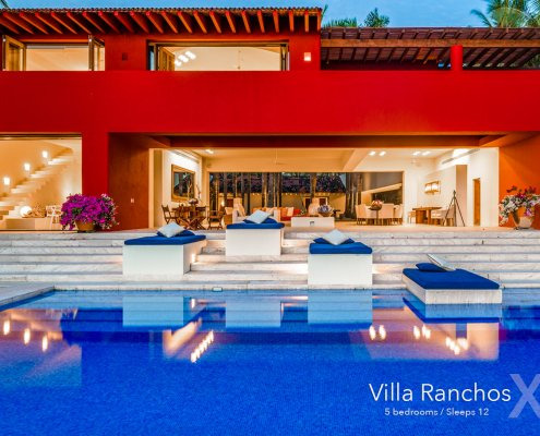 Villa Ranchos X - Luxury real estate and vacation rentals at the Punta Mita Mexico Resort