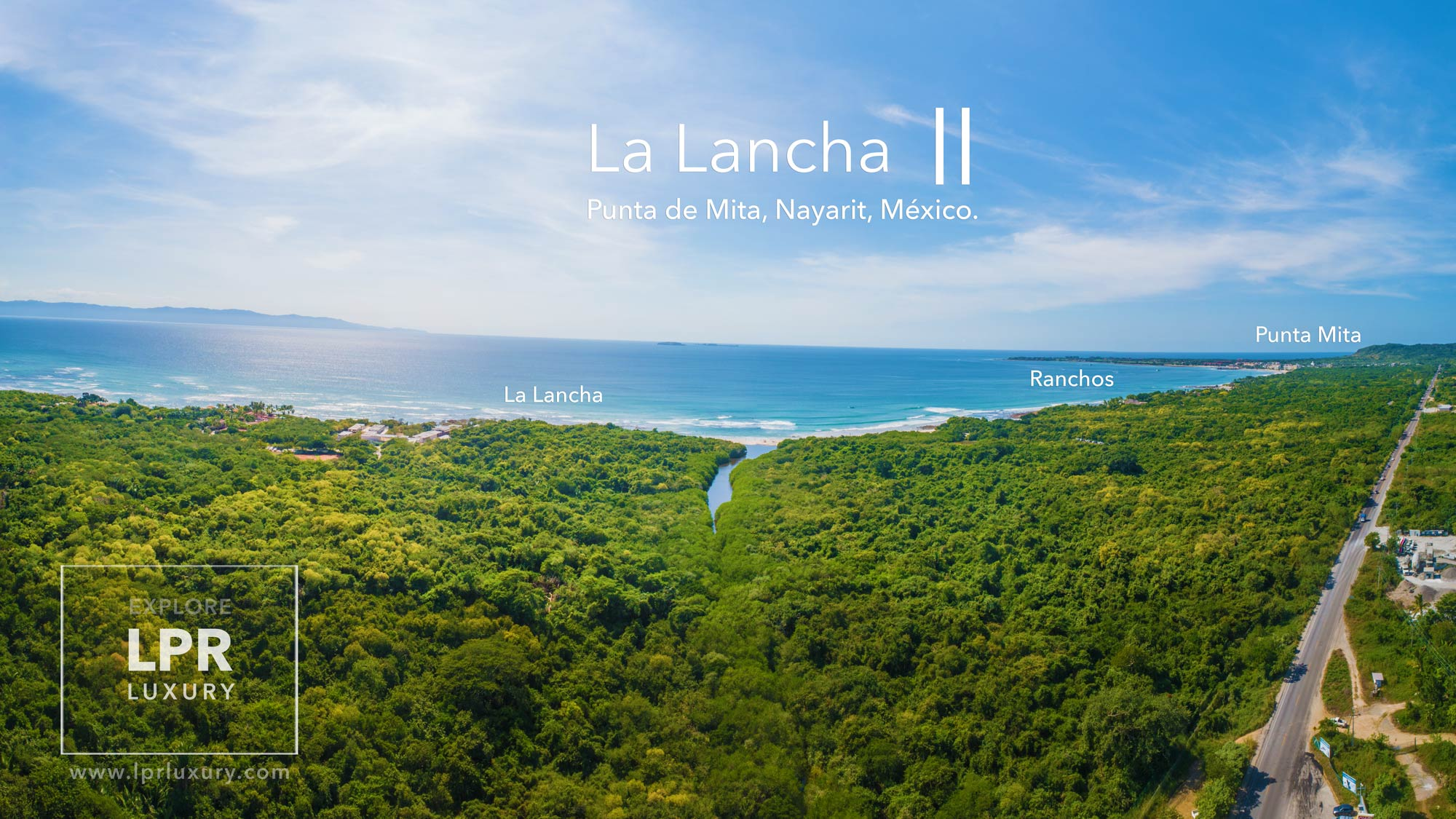 La Lancha - Punta Mita resort beachfront luxury estate villas and condos. Luxury real estate for sale at the Punta Mita Resort, Riviera Nayarit, Mexico