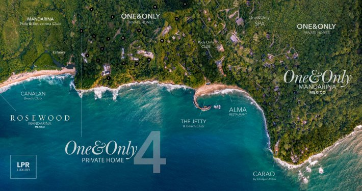 The Private Homes at One&Only Mandarina, Riviera Nayarit, Mexico – LPR Luxury resort real estate in Mexico