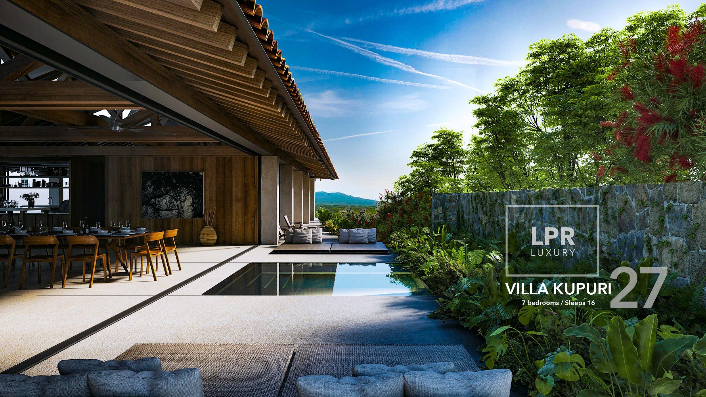 Villa Kupuri 27 at the Punta Mita Resort, Mexico