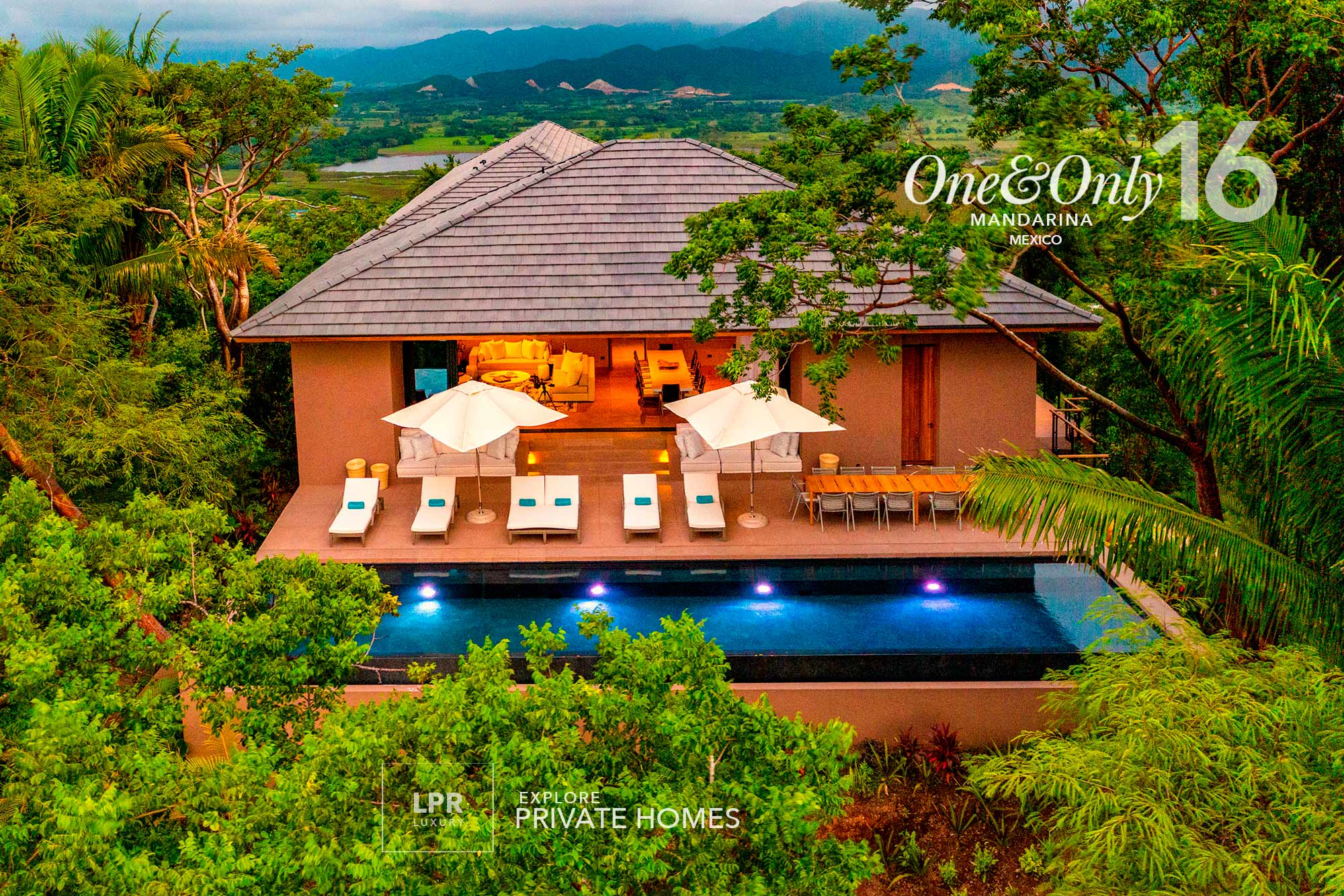 Explore The Private Homes at One&Only Mandarina, Riviera Nayarit, Mexico - LPR Luxury resort real estate in Mexico.